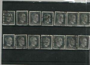 Deutsches  Reich Mi.- Nr. 14 x 781  (516)