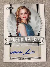 2017 Leaf Pop Century Mena Suvari Accolades Autograph Card American Beauty Pie