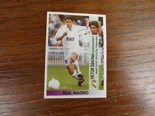 FOOTBALL STICKER PANINI collector : VICTOR SANCHEZ REAL MADRID LIGA 1996-1997