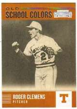 2015 Panini Contenders Baseball Old School Colors #1 Roger Clemens