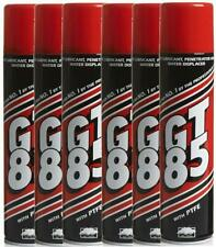 6x GT85 Aerosol Cans PTFE Chain Lubricant GT 85 Water Displacer GT85 400ml