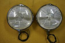 Pair of Marchal 660/760 fog lights, Ferrari, Porsche
