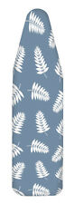 Homz 14 in. W x 42 in. L Cotton Blue Ironing Board Cover