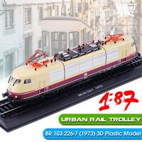 1:87 Urban Rail Trolley BR 103 226-7 (1973) Train 3D Spur H0 Modell Lokomotiven