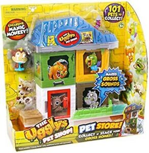 THE UGGLYS PET SHOP PET STORE! COLLECT & STACK YOUR GROSS HOMES! BRAND NEW.