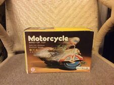 Vintage Collectible Item by CLOCKWORK: Motorcycle (MS 702) Wind-up Tin Toy