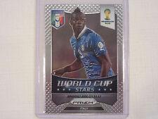 2014 Panini Prizm FIFA  World Cup Soccer Stars   Mario Balotelli  Card 26