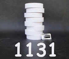 Labels for Monarch 1131 White, 2 sleeves one line price gun labels = 16 rolls