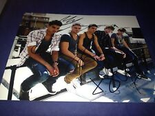The Wanted Complete Hand Signed 8x10 Autographed Photo Autographed W/COA