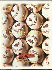 1995 High Desert Mavericks vs Lake Elsinore Storm  Minor League Scorecard EX