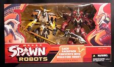 McFarlane Toys Manga Spawn Robots Deluxe 2 Figure Box set New
