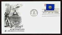 #1641 13c New Hampshire, Art Craft-Bicentennial FDC **ANY 4=FREE SHIPPING**