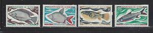 CHAD - 218 - 221 - MH - 1969 - FISH