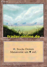 Ebene 2/3 (Plains) Magic limited black bordered german beta fbb foreign deutsch