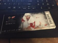 2016 DETROIT RED WINGS VS BOSTON BRUINS TICKET STUB 2/14 BRENDAN SMITH