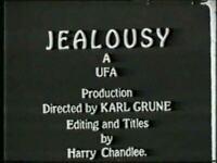 DVD Jealousy (Karl Grune,1925)  Lya de Putti, Werner Krauss Erich Pommer UFA