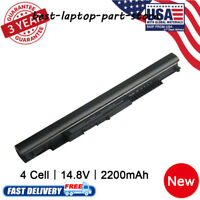 FOR HP 240 250 255 G4 G5 Notebook Battery 807956-001 HS03 Power Supply Charg Lot