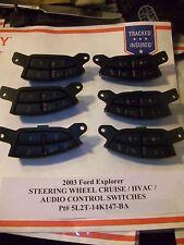 2003 Ford Explorer STEERING WHEEL CRUISE & AUDIO HVAC SWITCH s 5L2T-14K147-BA