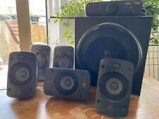 Logitech Z906 5.1 Sound System, Lautsprecher mit 1000 Watt Surround Sound, THX