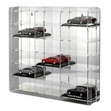 Sora modelo auto vitrina 1:43 con verspiegelter plano posterior para 18 maquetas de coches