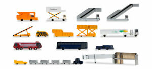 Herpa Wings 519472A Airport Accessories #1 Vehicles Stairs Gates & More 1/500
