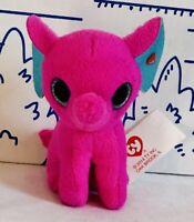 New McDONALDS TY TEENIE BEANIE BOOS Elephant # 2 Peanut Pink Plush Doll 2014 Toy