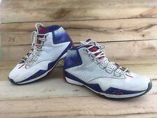 Reebok Men's Answer XII Shoes Sz 14 White Blue Allen Iverson Basketball 4-J11339