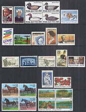 US 1985 Complete Commemorative Year Set of 27 2110-2166 w/ Blocks - MNH*