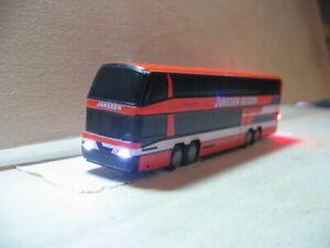 Doppelstock Bus  Spur N mit Beleuchtung !!