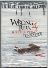 WRONG TURN 4 Bloody Beginnings (DVD, 2011, Rated/Unrated) NEW