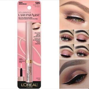 2 L'oreal Voluminous Lash Paradise Liquid Eyeliner Metallic Finish Rose Gold 125