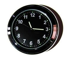 "NEW! British made Time-Rite ""Sixty-Plus"" Car Dashboard Clock - Black Clock"