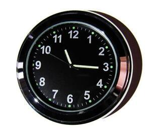 "NEW! British made Time-Rite ""Sixty-Plus"" Car Dashboard Clock - Black Clock"