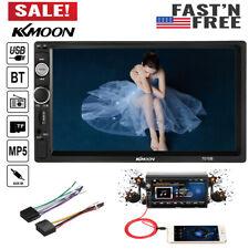 7'' In Dash Double 2 Din HD Car Stereo Radio MP5 FM Player BT USA Y2B7