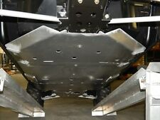 Axiom Aluminum Polaris RZR 900 & RZR 1000 S Skid Plates w/Rock Sliders (Cutouts)