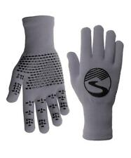 Showers Pass Crosspoint Waterproof Knit Wool Cycling Gloves -Grey