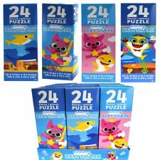 """Pinkfong Baby Shark Jigsaw Puzzle Fun Game for Toddlers 10.3 x 9.1"""" (24 pcs)"""
