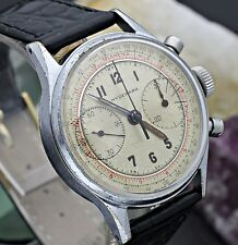 Vintage HYDEPARK Military Chronograph Landeron 48 All Original Watch L8