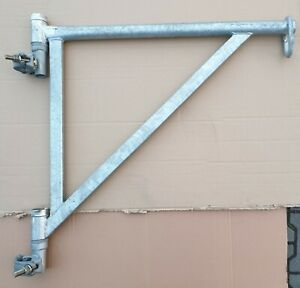 Bauaufzug-Konsole max. 200 kg, Ausleger Konsole Gerüstaufzug Handaufzug Aufzug !