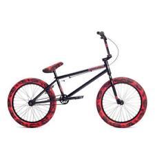 """2019 STOLEN BRAND CASINO XL 21 BLACK RED TIE DYE BMX BIKE 21"""" S&M FIT BIKES"""