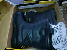 dewalt defender rigger boots size 12 black