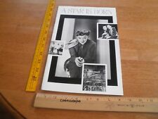 Judy Garland A Star is Born 1983 movie program Academy of Motion Picture Arts an