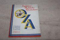 brochure publicitaire OZA (appareils de précision et tables a dessiner)