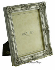 """Shabby & Chic Vintage Very Ornate Antique Silver Photo frame for 10""""x 8"""" Picture"""