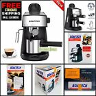 Sowtech CM6811 Coffee Espresso Maker 3.5 Bar 4 Cup Cappuccino With Milk Frother photo