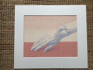 Rene Magritte - Les bijoux indiscrets original lithograph