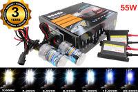 55W HID BI-Xenon Conversion KIT H3 H4 H7 H11 H13 5202 9005 9006 9007 Dual Beam F