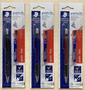 Staedtler Graphite 779 Mars Micro Carbon Mechanical Pencil 0.7mm HB + Refills