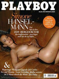 "Playboy Juni 06/2021 - Simone Hanselmann - ""ZDF Bergdoktor"" - NEU"
