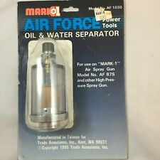 Oil & Water Separator Mark 1 and Other High Pressure Paint Spray Gun Nos